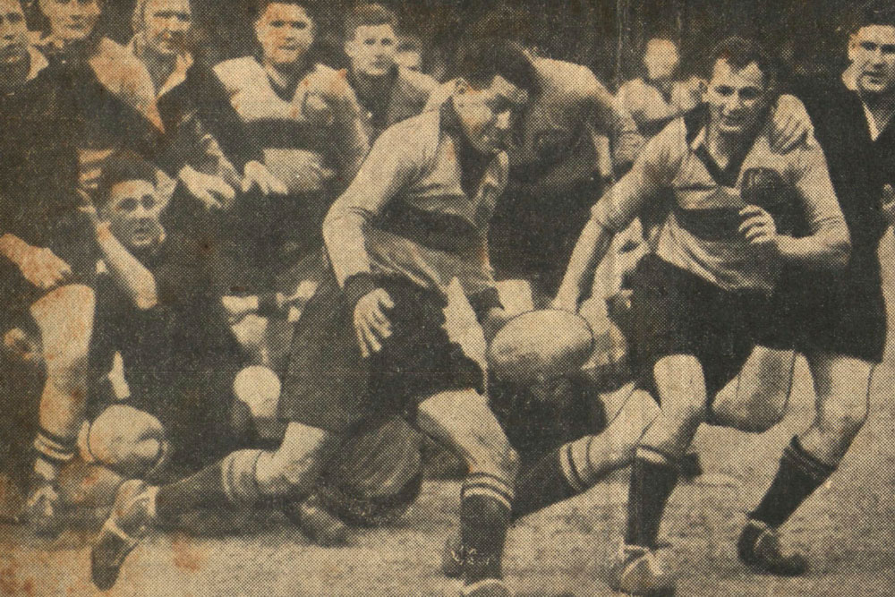 Ramalli in action against the All Blacks. Photo: Supplied