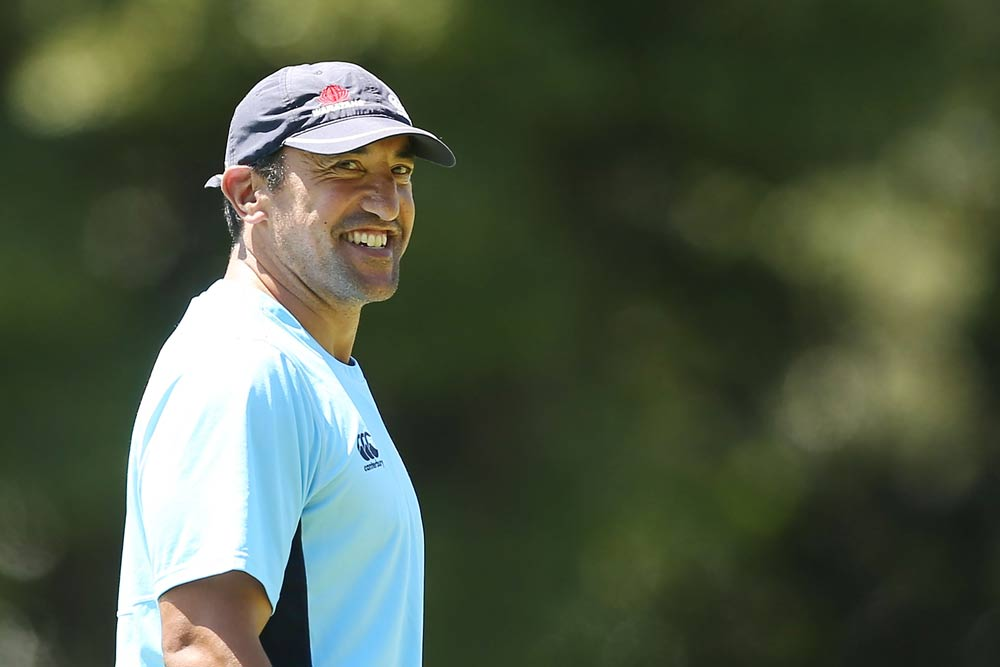 Daryl Gibson will lead the Waratahs for the first time. Photo: Getty Images