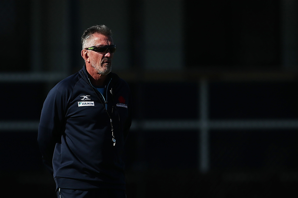 Embattled NSW Waratahs Coach, Rob Penney parted ways with the club on Sunday | Getty Images