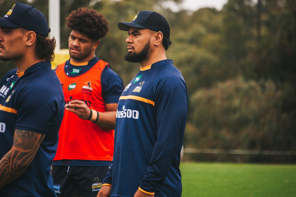The former Junior All Black on deck at Brumbies HQ.