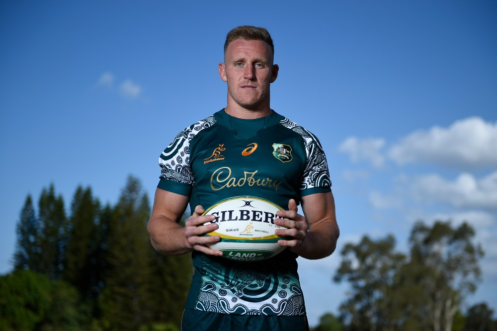 Reece Hodge will play fullback for the Wallabies. Photo: Getty Images