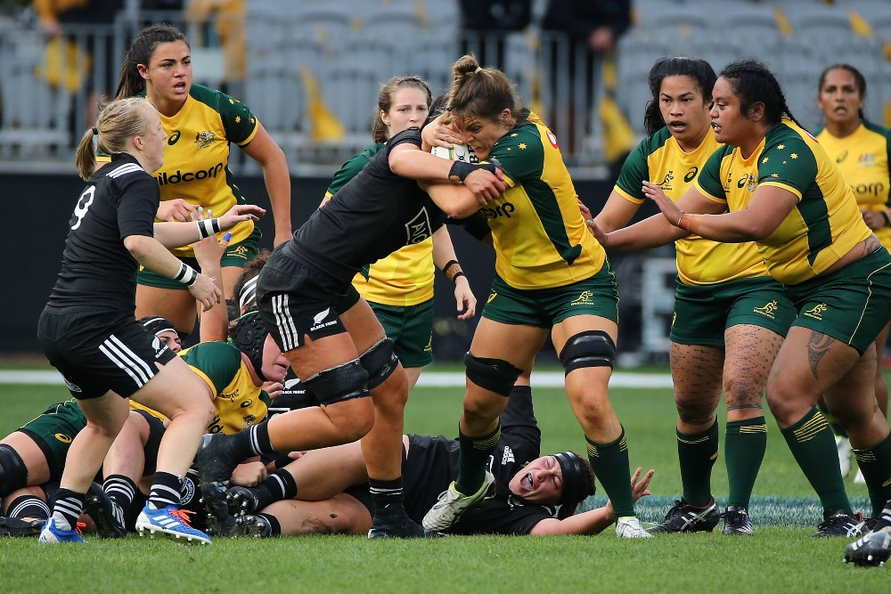 The Wallaroos will join New Zealand, USA and Canada as part of the Pacific Four series. Photo: Getty Images