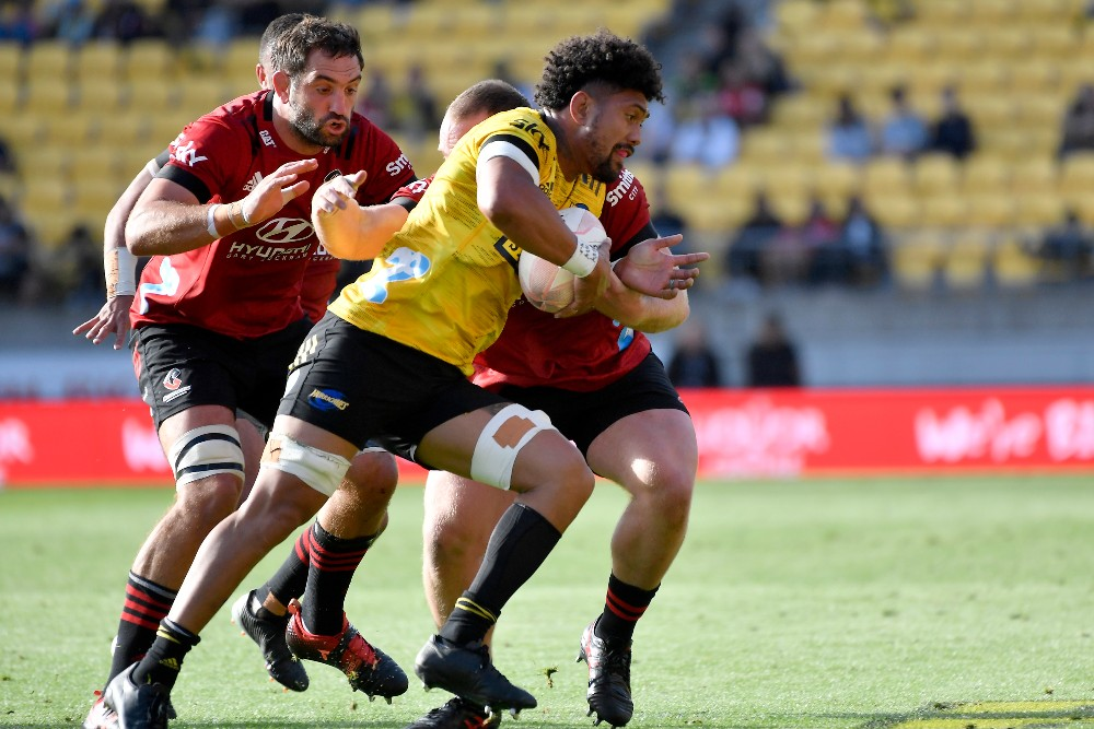 Ardie Savea in action for the Hurricanes. Photo: Getty Images