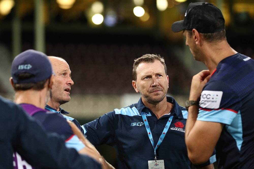 Waratahs co-coach Jason Gilmore is optimistic about their future. Photo: Getty Images