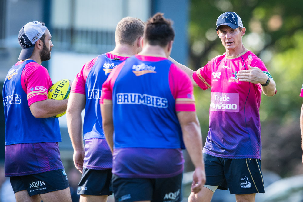 Stephen Larkham's men topped the Australian conference in 2016. Photo: RUGBY.com.au/Stuart Walmsley