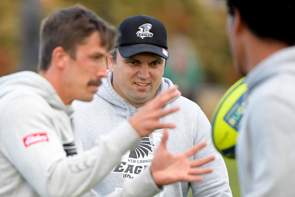 NSW Country coach Rob Taylor has high hopes for the next generation of rugby talent. Photo: Getty Images