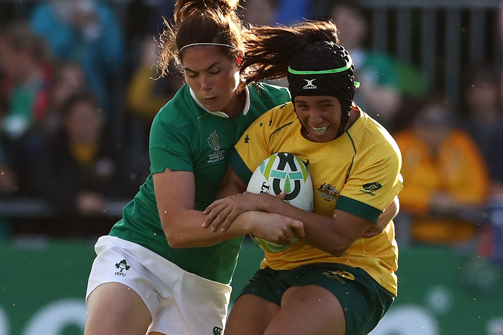 The Wallaroos put up a fight against Ireland. Photo: Getty Images