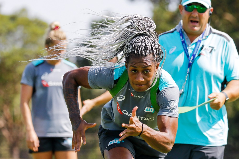 The Aussie 7s continue to lift with a year to go until Tokyo. Photo Karen Watson