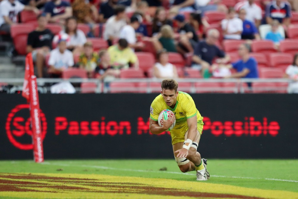 The Hong Kong Sevens have once again been postponed. Photo: Getty Images