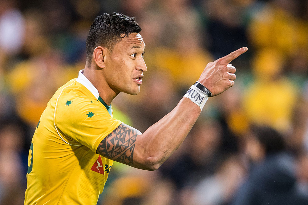 Waiting the right move for the Wallabies' prize asset. Photo: ARU Media/Stuart Walmsley