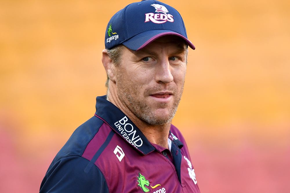 Brad Thorn was coy on his future following the Super Rugby AU final. Photo: Getty Images