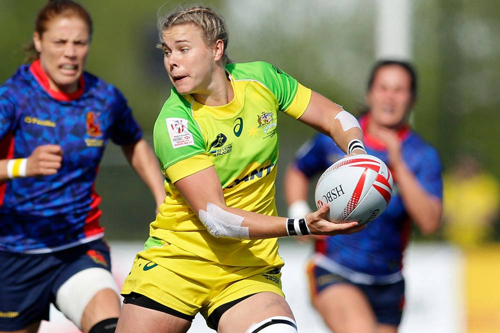 Australia will play off for third place in Canada. Photo: World Rugby