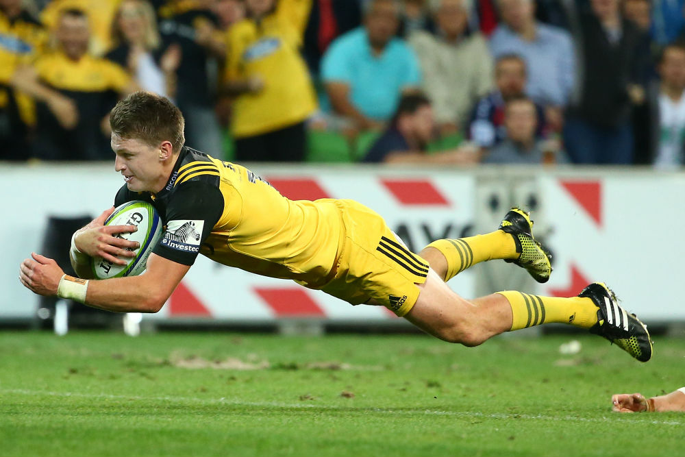 Beauden Barrett starred in a man of the match performance for the Hurrncaes