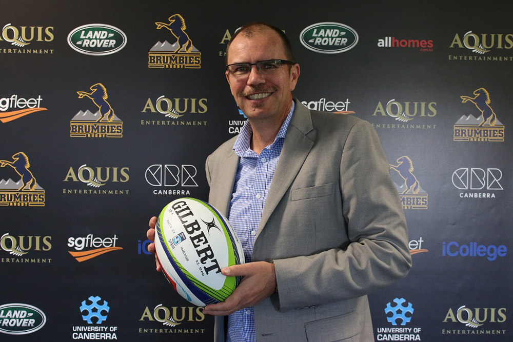 Michael Thomson has been appointed Brumbies CEO. Photo: Brumbies