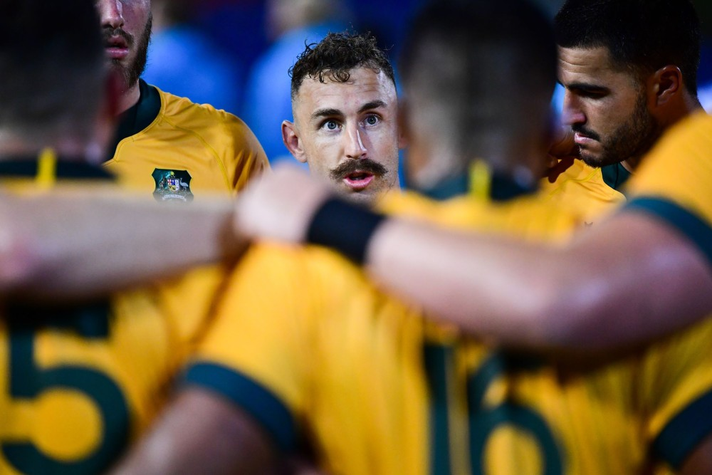 Nic White says Saturday's draw against Argentina felt like a loss. Photo: Stu Walmsley/Rugby Australia