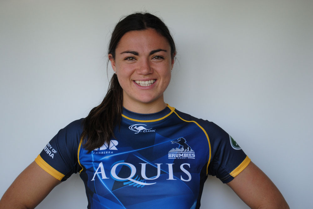 Millie Boyle will go a long way for rugby. Photo: ACT Brumbies