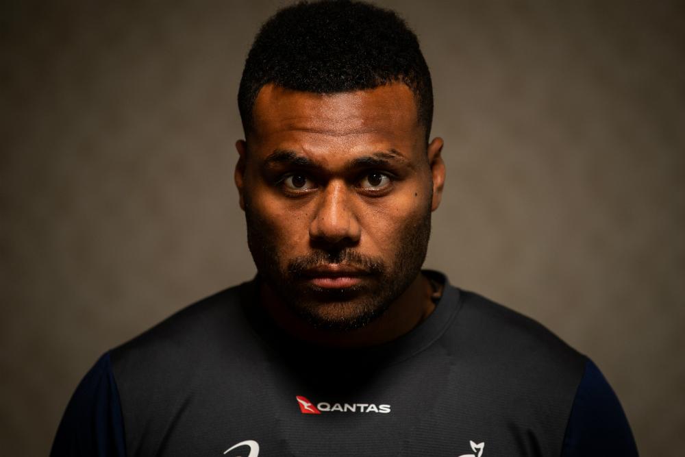 Samu Kerevi has seen great change in Lukhan Tui. Photo: RUGBY.com.au/Stuart Walmsley