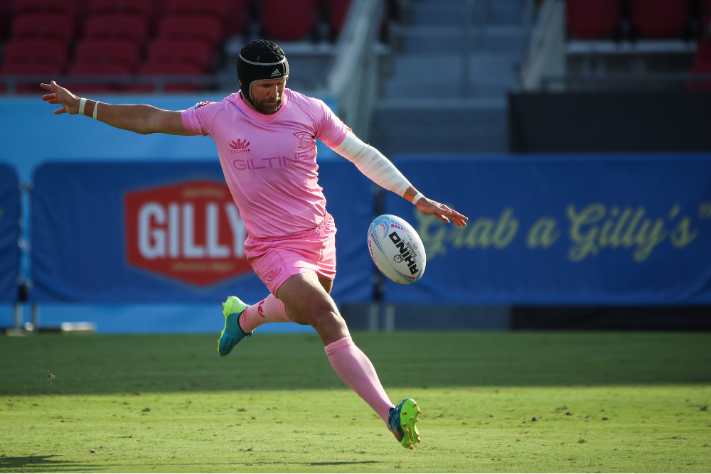 Matt Giteau is looking for one last trophy with the LA Giltinis. Photo: Getty Images