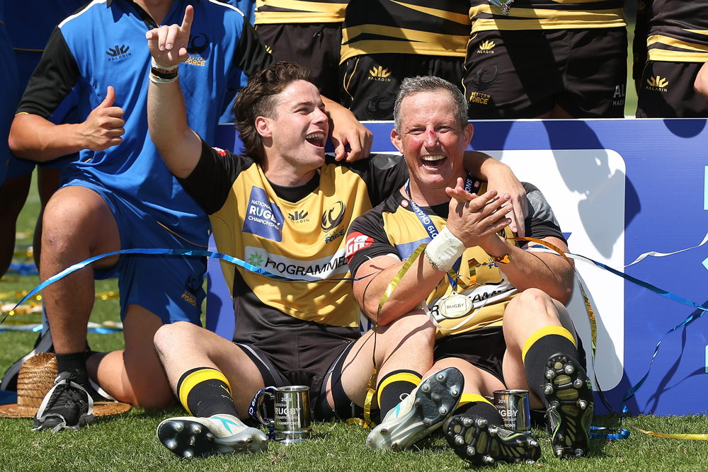 The Western Force took out the 2019 NRC title. Photo: Getty Images