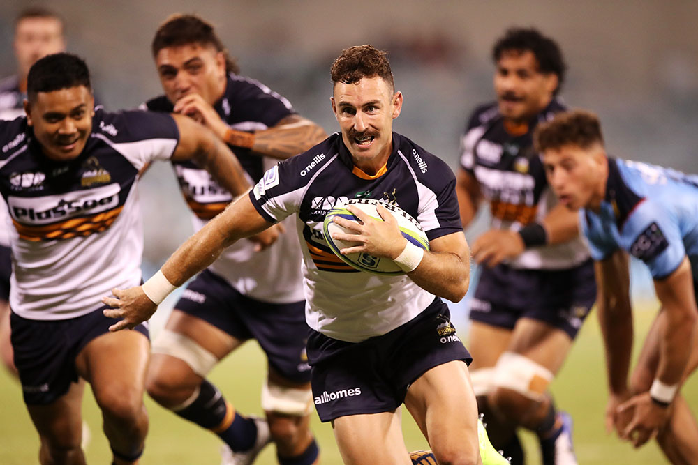 The Brumbies are eager to atone for their loss to Queensland when they take on the Western Force on Friday night. Photo: Getty Images