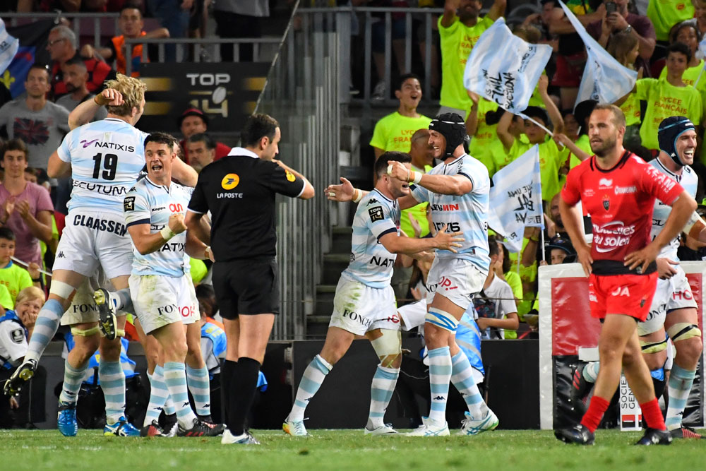 Racing Metro got the better of Toulon again. Photo: AFP