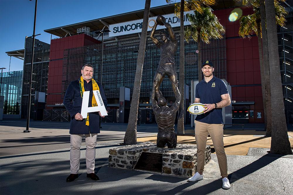 Classic Wallabies Daniel Herbert and James Horwill throw their support behind Australia's bid to host RWC 2027
