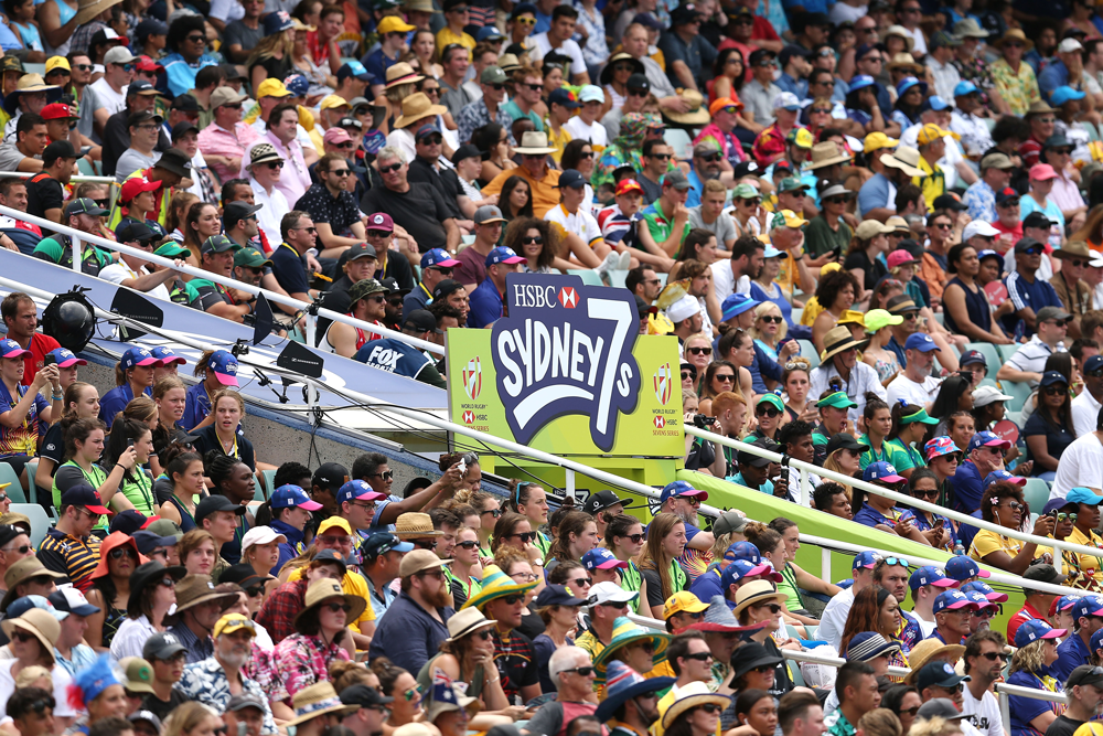 The 2021 HSBC Sydney 7s is being cancelled. Photo: Getty Images