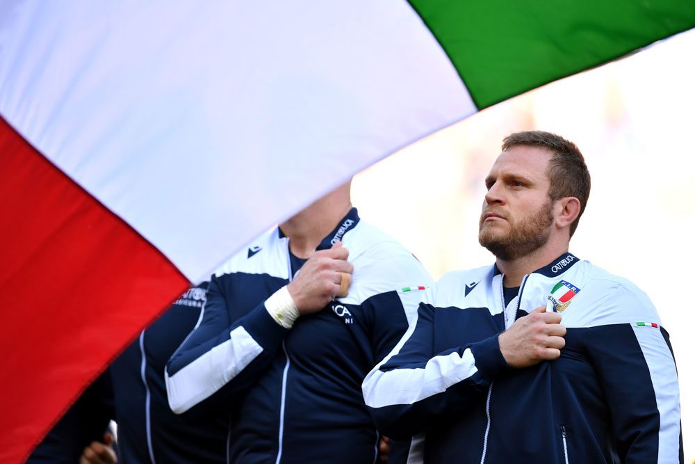Italian rugby bosses are taking voluntary salary cuts. Photo: Getty Images