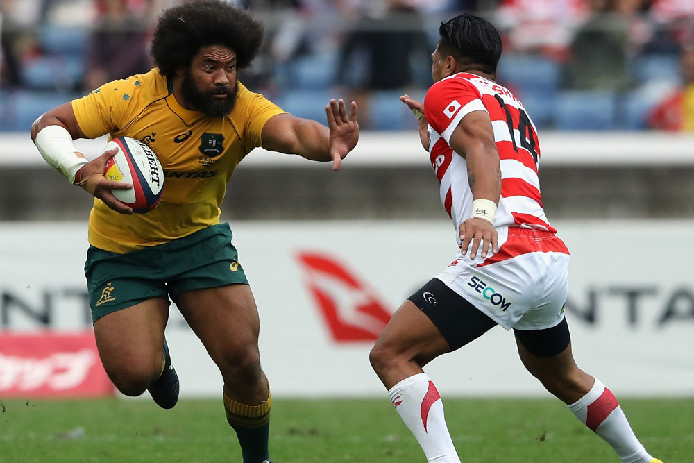 Tatafu Polota-Nau is linking with Leicester. Photo: Getty Images""