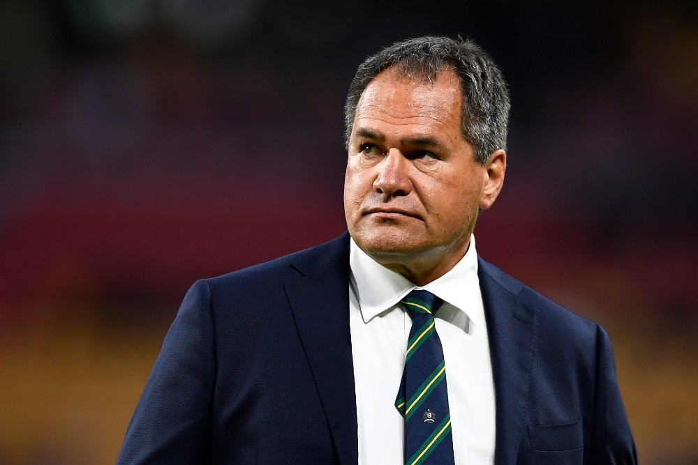 Dave Rennie says the Wallabies won't get carried away with their Bledisloe Cup win over the All Blacks. Photo: Getty Images