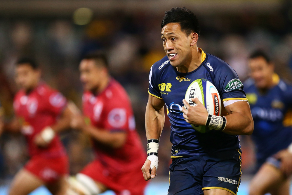 Christian Lealiifano returns to the Brumbies fold in 2018. Photo: Getty Images