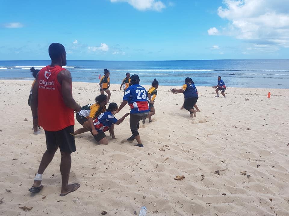 Get into Rugby: Nauru Beach Rugby