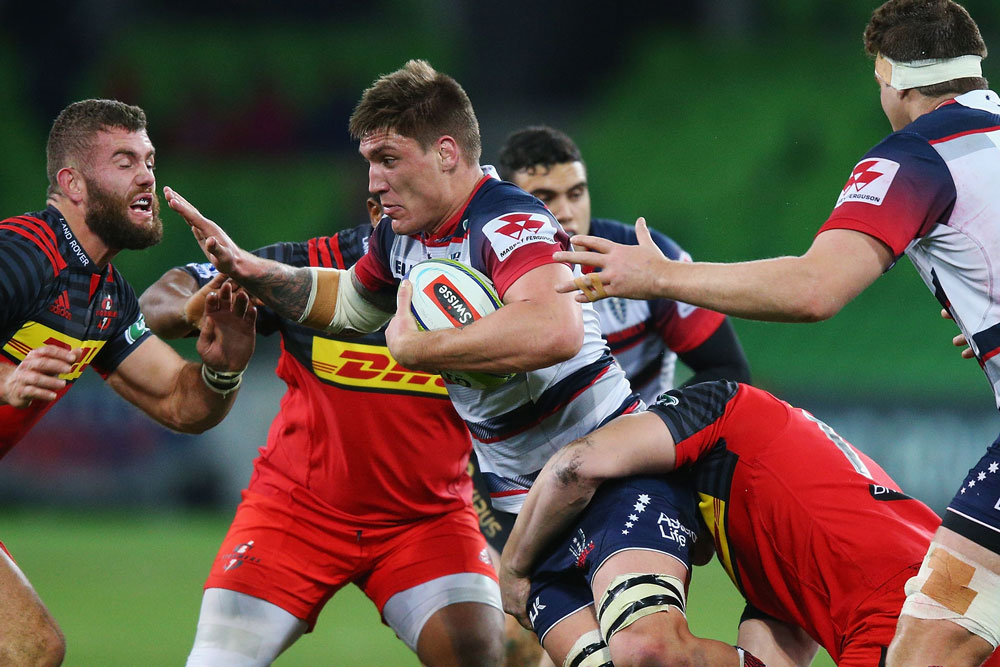 Sean McMahon will miss his first match since rd 13 last year. Photo: Getty Images