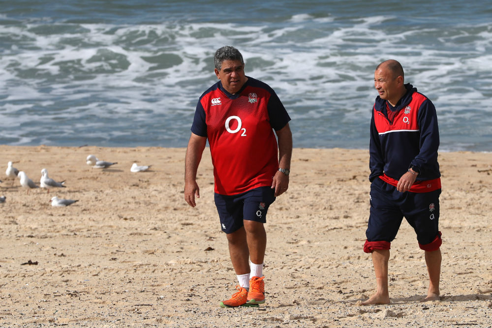 Glen Ella and Eddie Jones are back on their old stomping ground. Photo: Getty Images