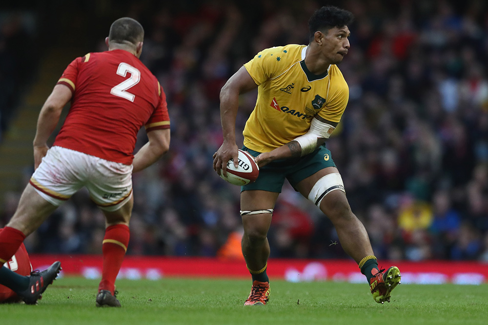 Lopeti Timani had a productive 80 minutes against Wales last weekend. Photo: Getty Images