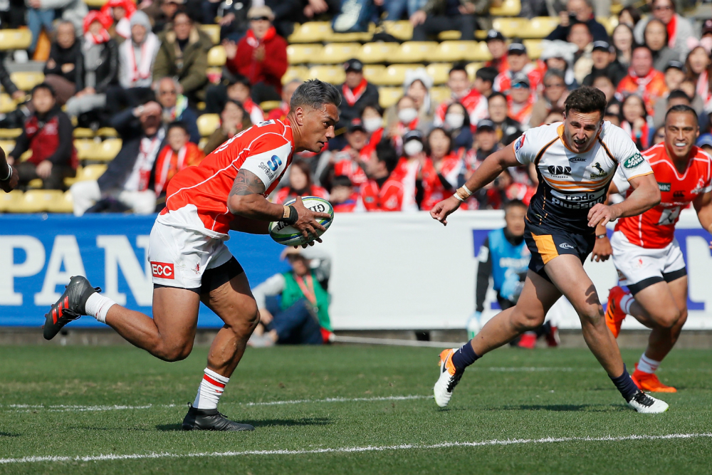 Tom Banks and the Brumbies struggled early against the Sunwolves. Photo: Getty Images