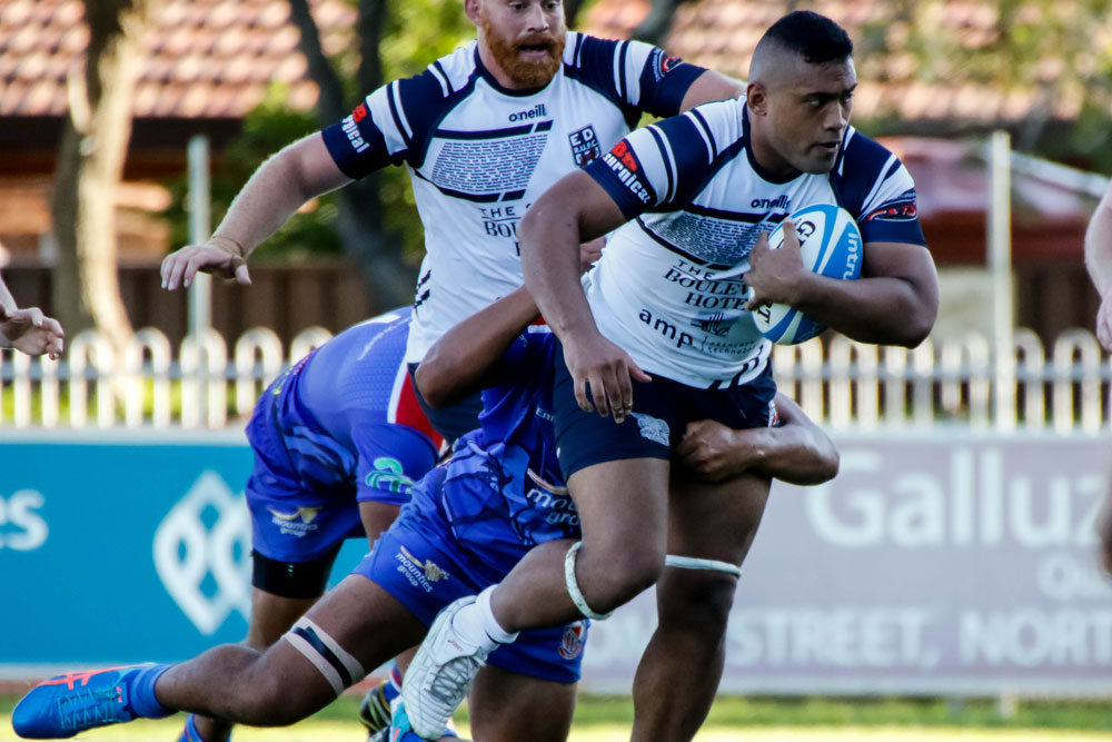 Patrick Sio in action for Eastwood. Photo: Serge Gonzalez