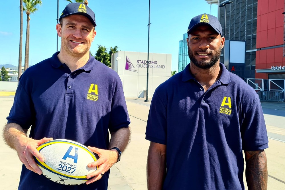 Grounded wing weapon Suliasi Vunivalu is excited about igniting his Wallabies' career in the mini-World Cup in store for Queensland over the next month.  Photo: supplied