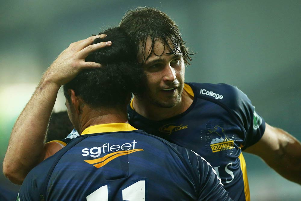 The Brumbies have banded together in an emotional week. Photo: Getty Images