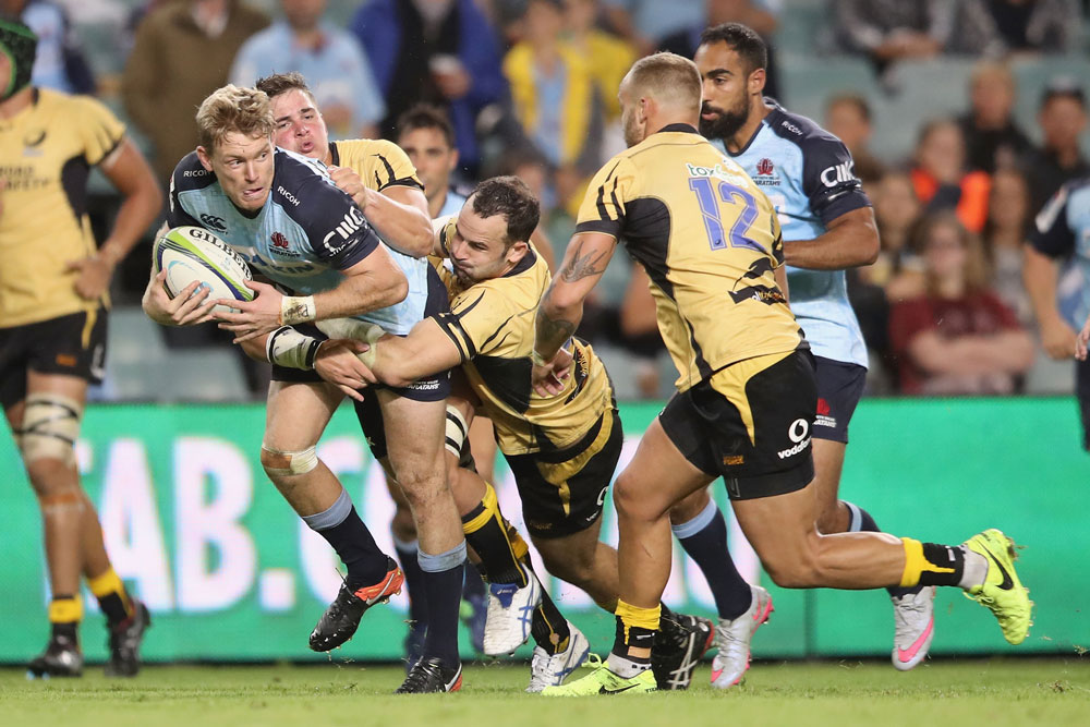 Bryce Hegarty wants to take control of the Waratahs. Photo: Getty Images