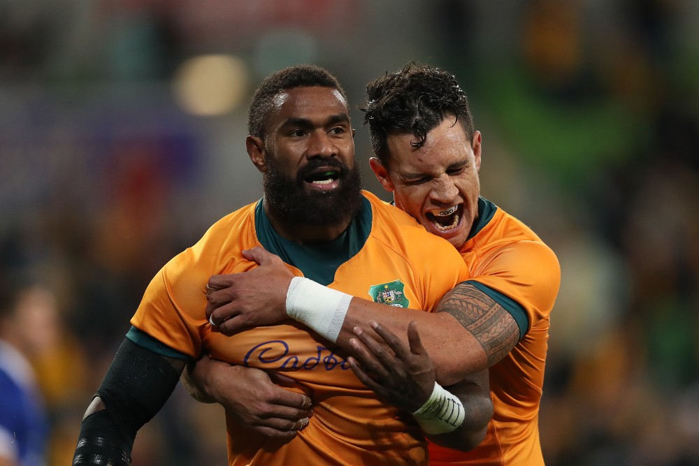 Marika Koroibete returns to the Wallabies side for the second Bledisloe Test. Photo: Getty Images