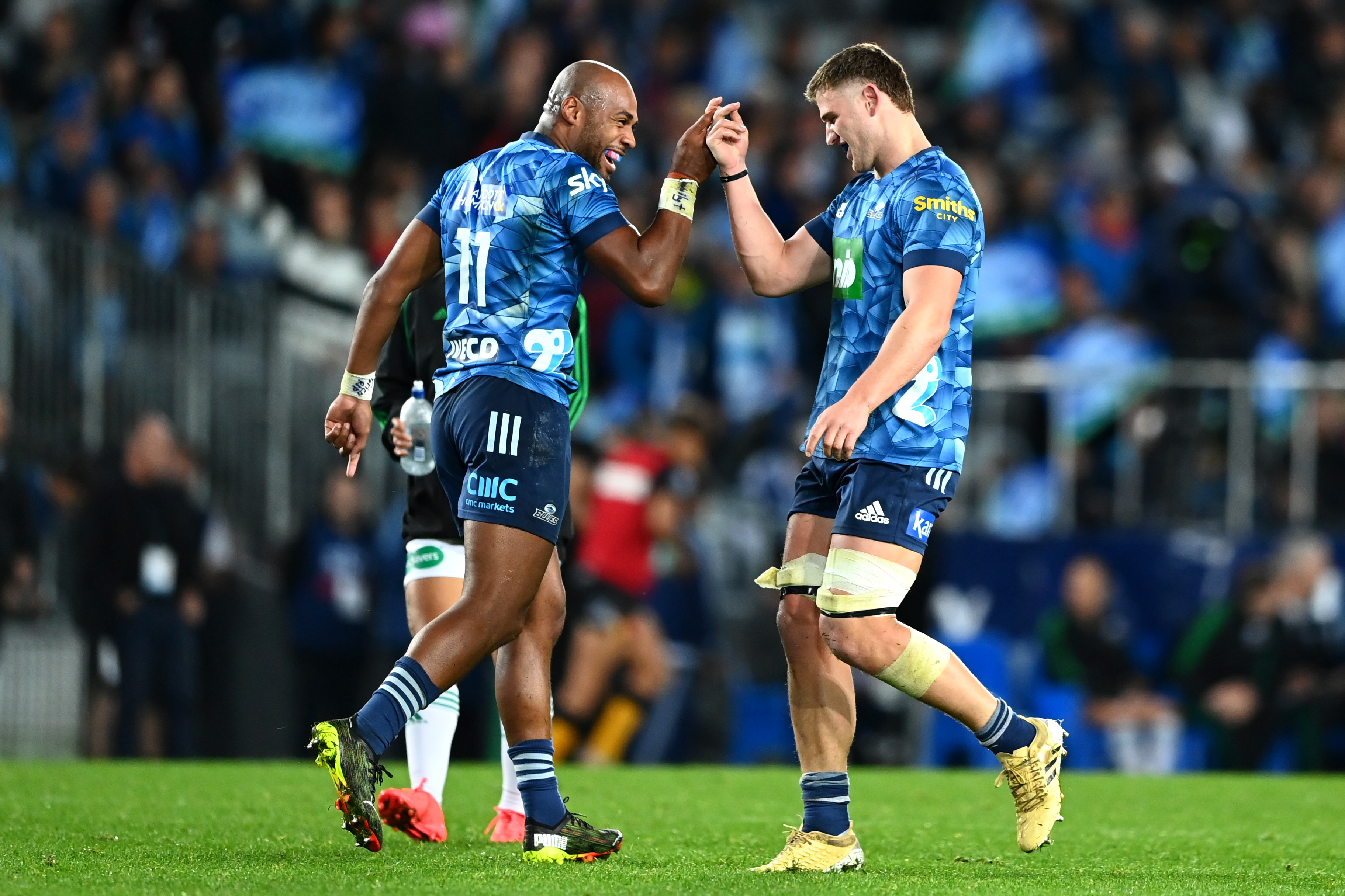 The Blues enter the Final as favourites after finishing top of Super Rugby Trans-Tasman. Photo: Getty Images