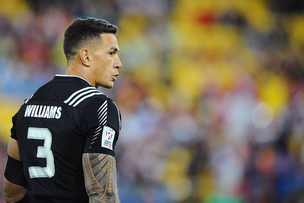 Sonny Bill Williams made his Sevens debut in Wellington.