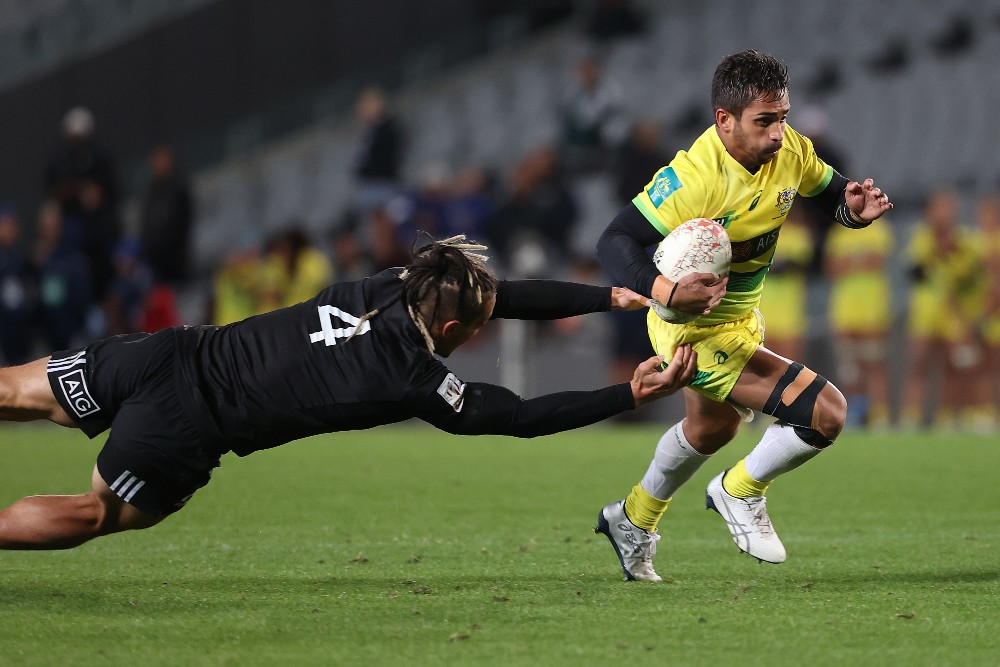 Maurice Longbottom is the main x-factor for the Australian side. Photo: Getty Images