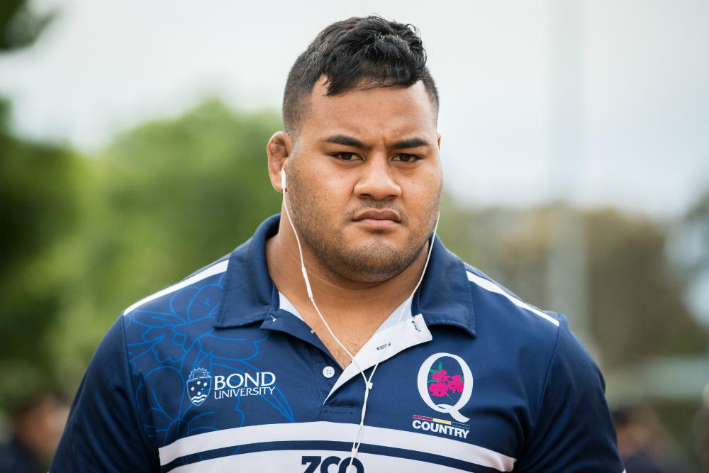 Tupou has served a long apprenticeship in Queensland. Photo: QRU Media/Brendan Hertel
