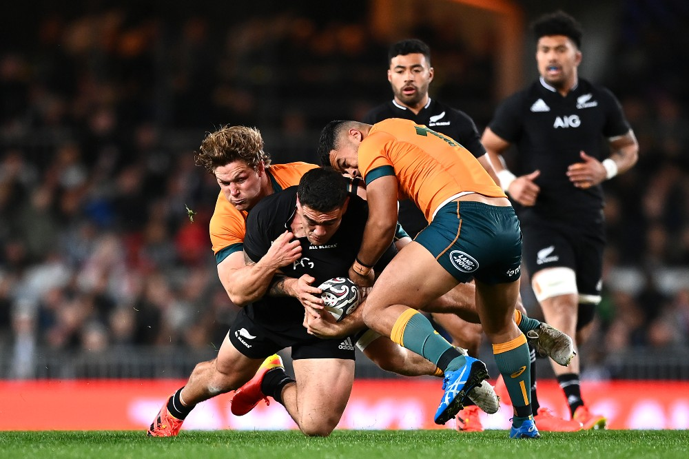 Eden Park hosts the opening Bledisloe between the All Blacks and Wallabies. Photo: Getty Images