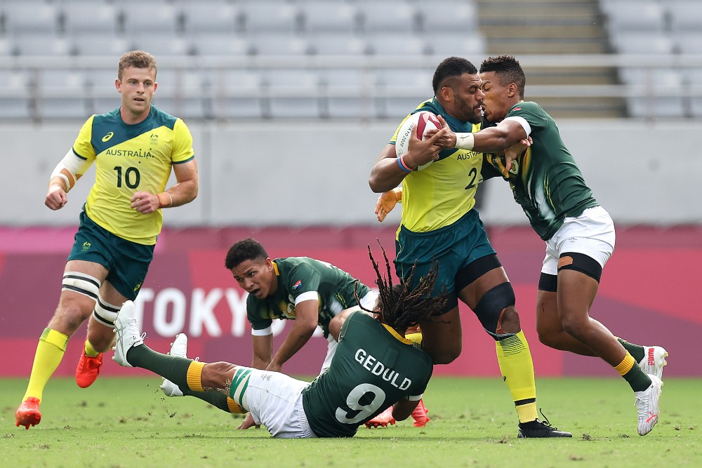 Samu Kerevi has left the door open for a return to Sevens for the 2024 Olympics. Photo: Getty Images