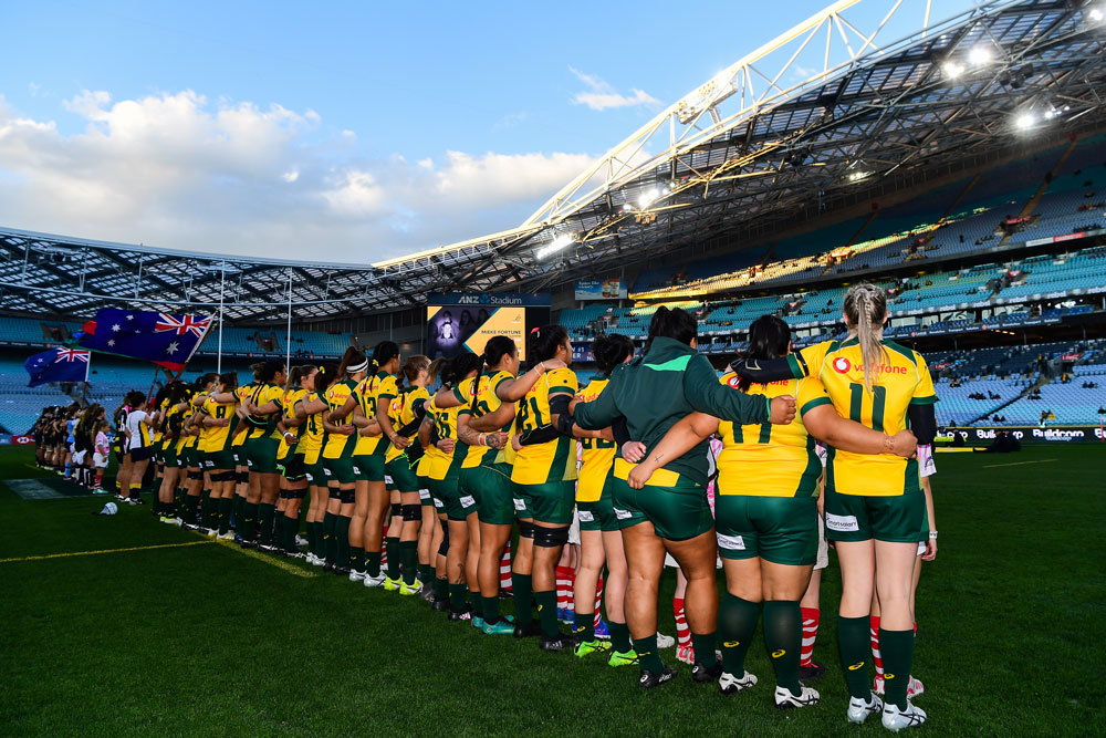 Rugby AU has copped criticism over the Wallaroos and Black Ferns' warm-up venue. Photo: RUGBY.com.au/Stuart Walmsley