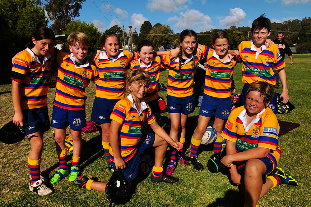 Renew IT will help support grassroots rugby via the Positive Rugby Foundation.
