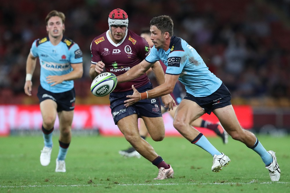 The Waratahs and Reds will play a pre-season match in Roma. Photo: Getty Images